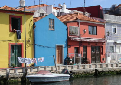 Aveiro - known as the Venice of Portugal...
