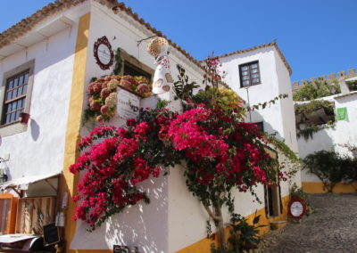 The lovely town of Obidos
